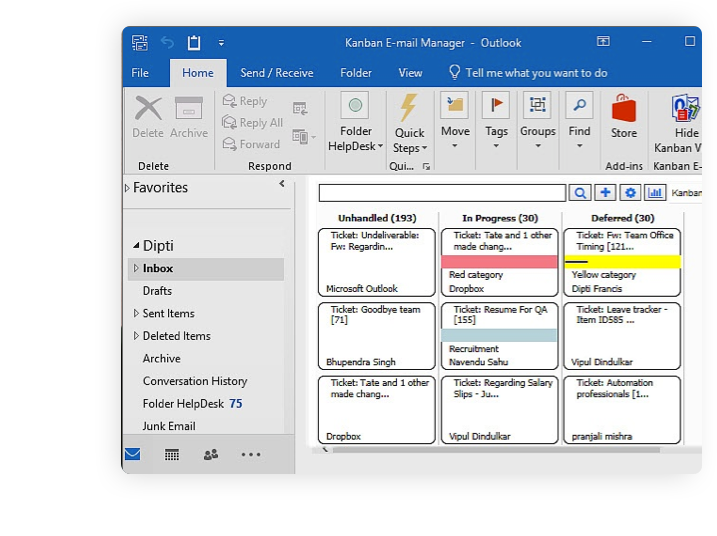 ABOUT KANBAN E-MAIL MANAGER - Big